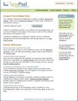 TypePad Knowledge Base